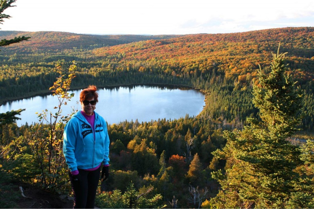Lori's fall mountain climb - Oberg Sept. 2012