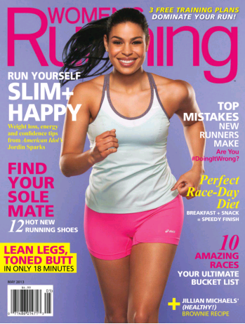 Women's Running May 2013 Cover