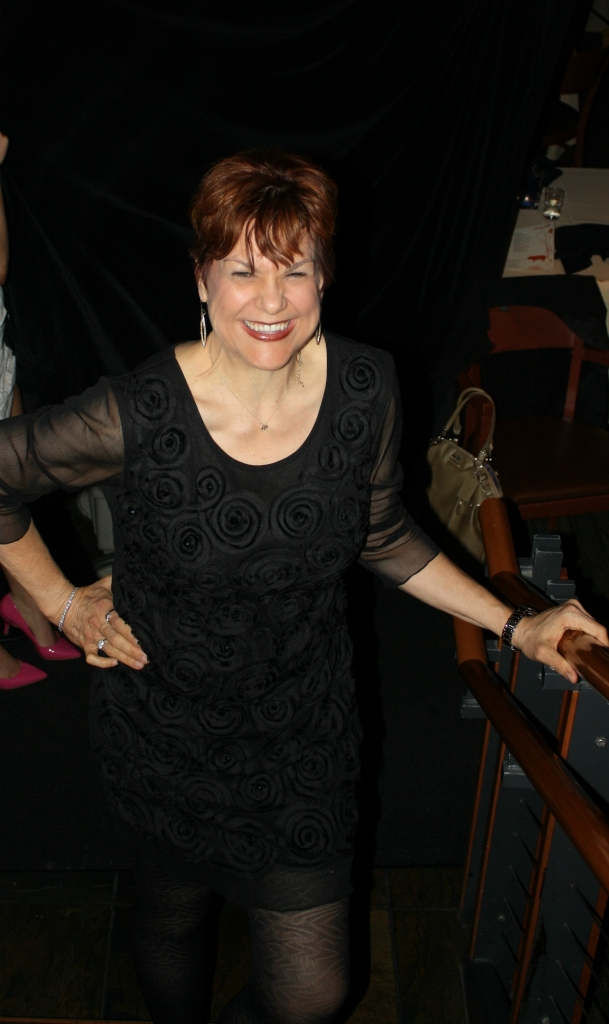 """Lori at one year - first """"little"""" black dress"""