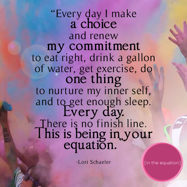Lori Schaefer, In the Equation Quote