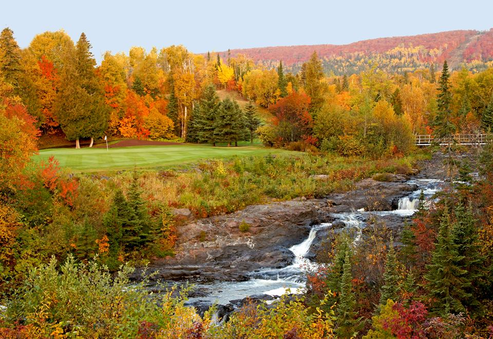 Superior National Gofl Course at Lutsen