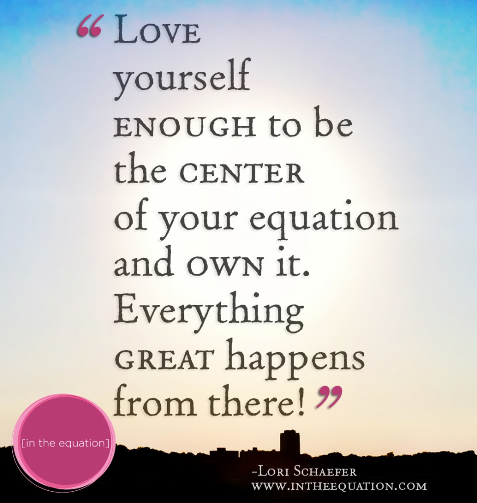 Love Yourself-In-the-Equation