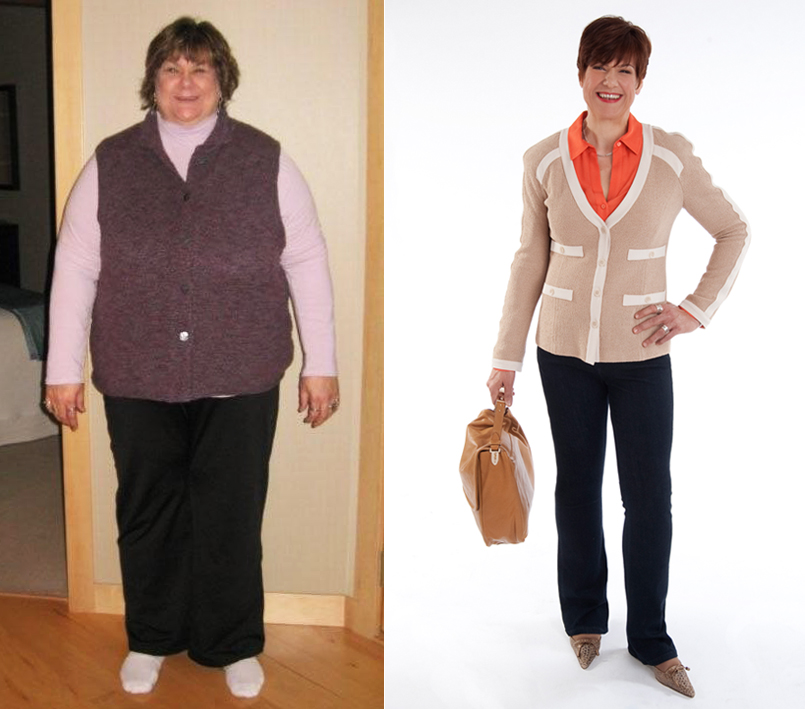 Lori Schaefer, Before & After