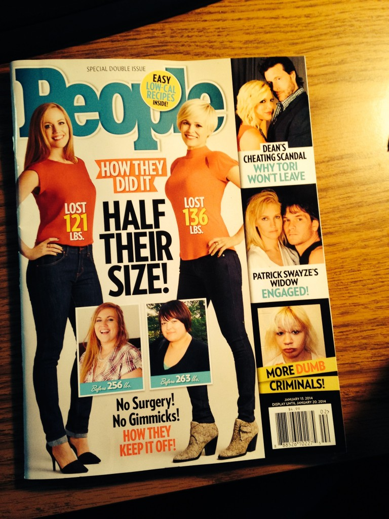 People Magazine Half Their Size 2014