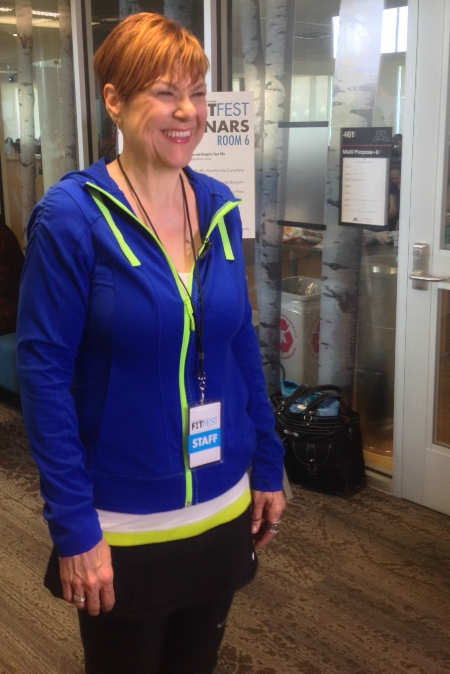 Lori Schaefer of In the Equation at MSP FitFest.2015