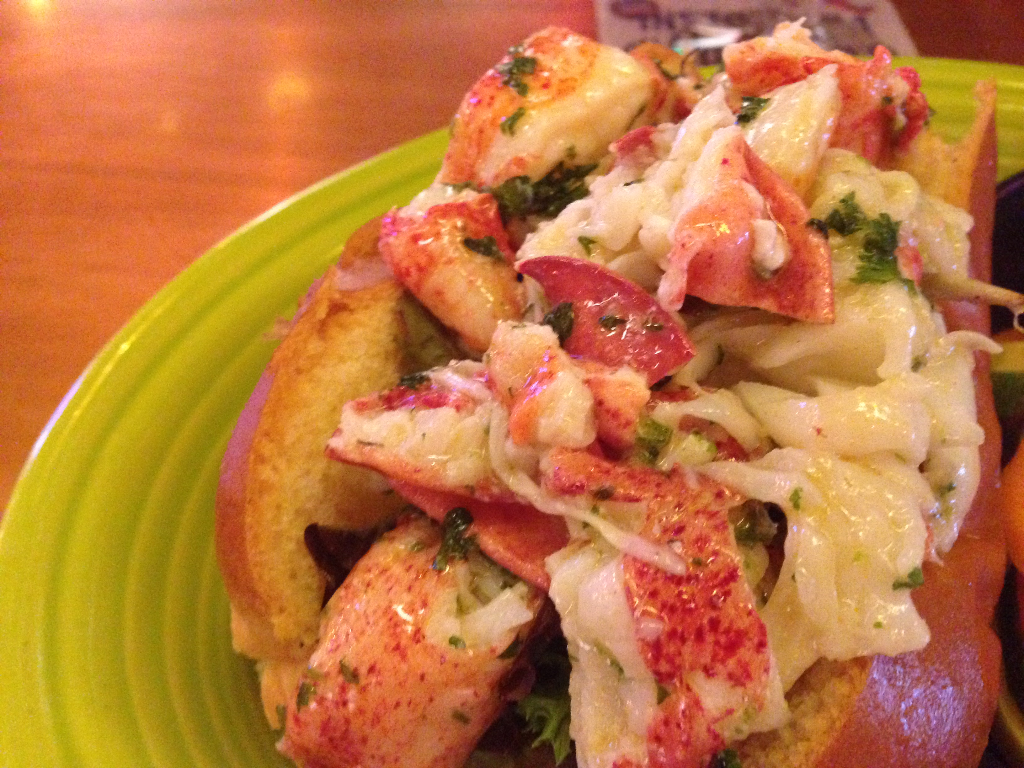 lobster roll treat - maine