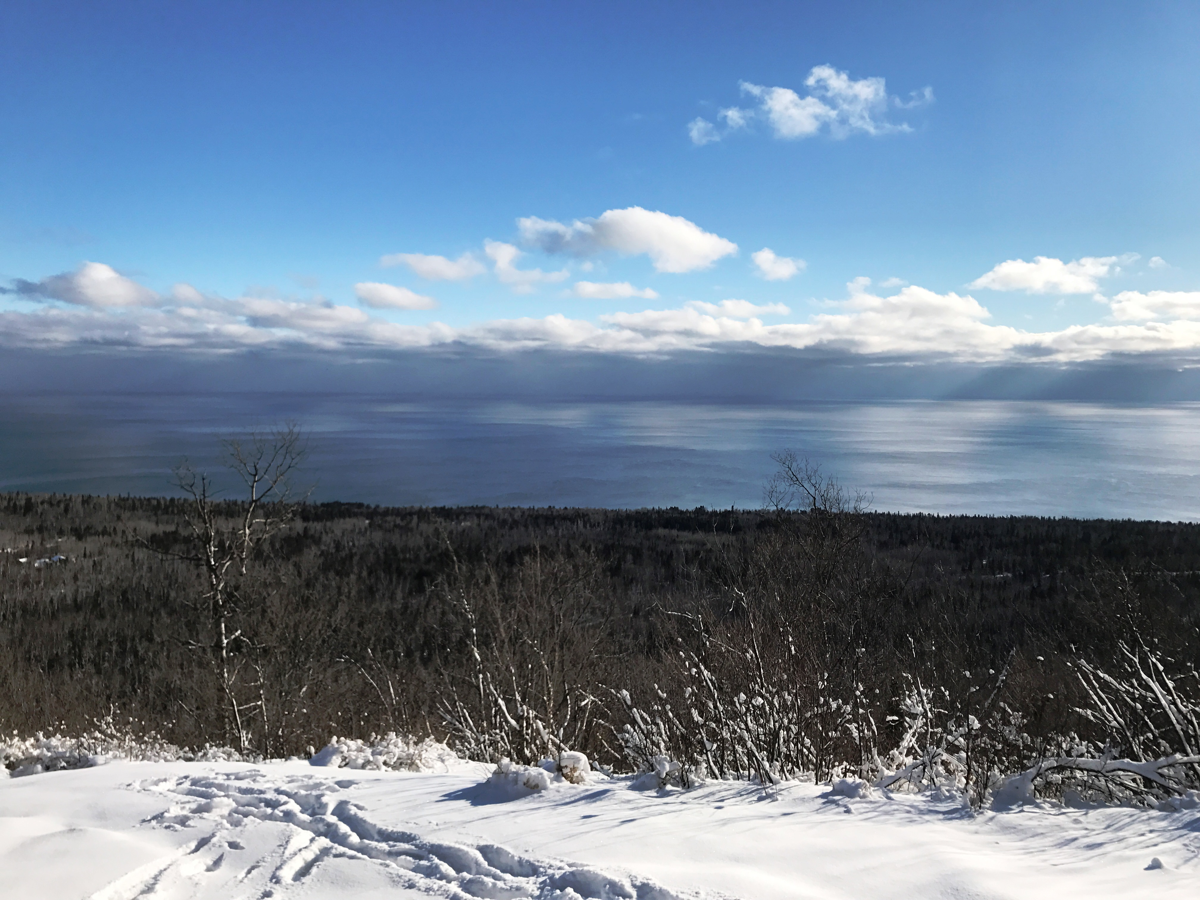 Winter View From Oberg Mountain - Dec. 20, 2016